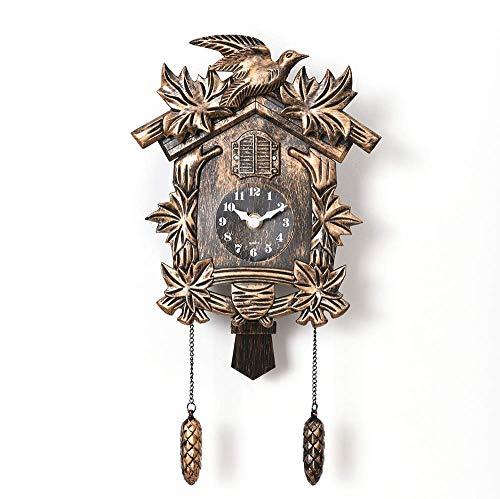 LTLJX Despertador de la Historieta de Madera Alarma Cuadrado Vertical Reloj Reloj Decorativo Digital Personalizado LUDEQUAN