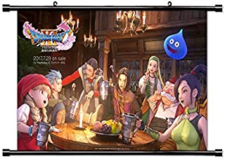 Dragon Quest XI Game Fabric Wall Scroll Poster (32x18) Inches [VG] DragonQuestXI-4(L)