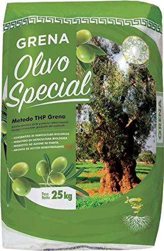 VIALCA CONCIME Biologico per Olive GRENA OLIVO Special Sacco kg.25 CONSENTITO in Agricoltura Biologica
