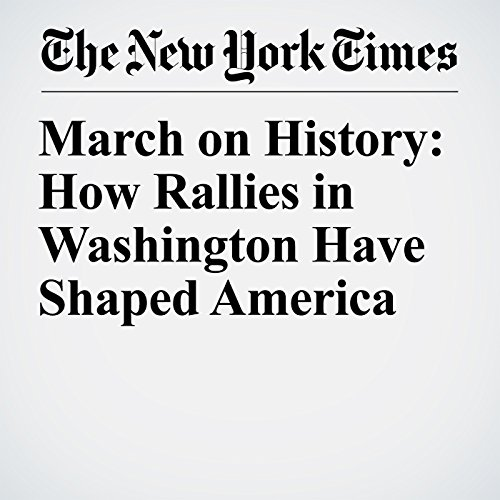 March on History: How Rallies in Washington Have Shaped America copertina