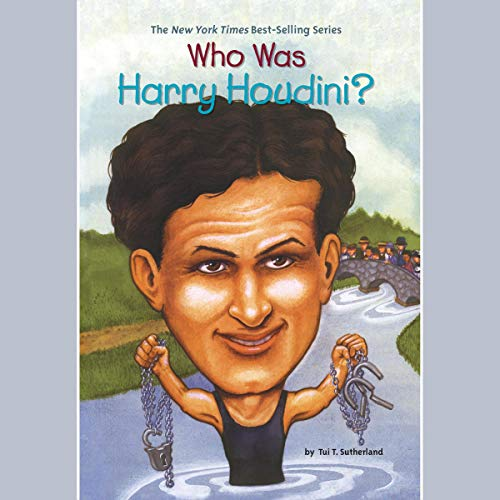 Who Was Harry Houdini? audiobook cover art