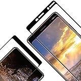 Verre Trempé pour Nokia 7 Plus, [Lot de 2] Film Protection Ecran Vitre HD, [Couverture Complète]...