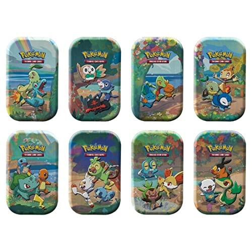 Pokémon USA, Inc. | Pokemon TCG: Celebrations Mini Tins (25th Anniv) Pantalla de 8 Quilates | Juego de Cartas | Edad 6+ | 2 Jugadores | Más de 20 Minutos de Tiempo de Juego
