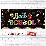FEPITO Bienvenidos a la Escuela Banner Banner Primer día de Escuela Grande Bandera de la ...