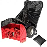 2win2buy Snow Blower Cover, All Weather Premium Waterproof Dustproof Snow Thrower Cover Heavy Duty Superior UV Protection Universal Fit with Storage Bag (50.39' L x 32.67' W x 40.15' H)