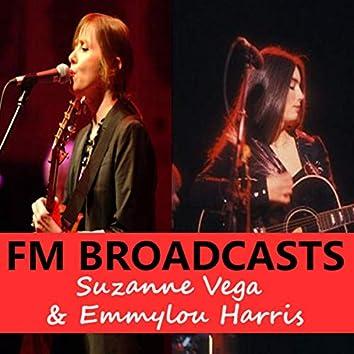 FM Broadcasts Suzanne Vega & Emmylou Harris
