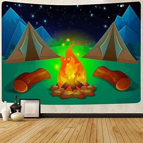 Puzzle 1000 piezas Bosque camping actividad al aire libre tema dibujos animados fútbol arte decoración pintura puzzle 1000 piezas paisajes Gran ocio vacacional, juegos interac50x75cm(20x30inch)