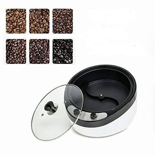 Elektrische Kaffee Röster Maschine Grater Bevel Design Temperatur Einstellbar