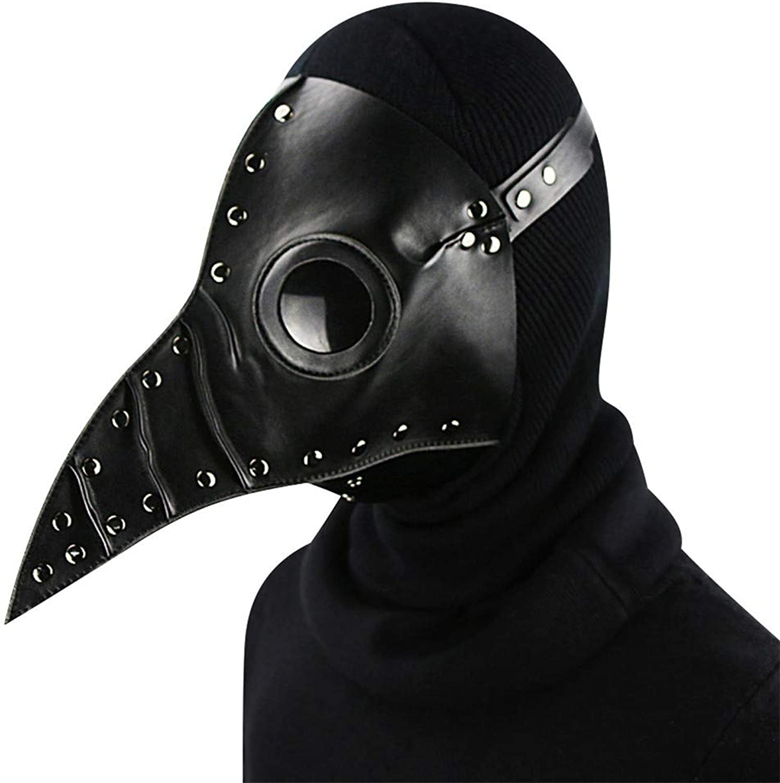 precios bajos Jiahe MásCochea Punk MásCochea MásCochea MásCochea de Doctor de la Plaga Accesorios de Halloween Disfraz Steam CosJugar gótico,negro  apresurado a ver