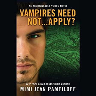 Page de couverture de Vampires Need Not...Apply?