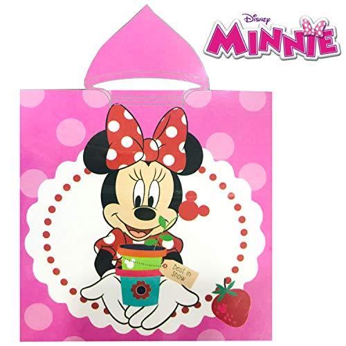 Disney Poncho Minnie Mouse Capucha Microfibra Toalla Playa Piscina Baño Microfibra Infantil 50x100cm (6016)