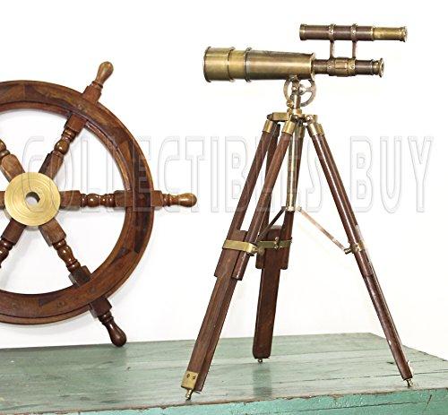 Table Décor Telescope Vintage
