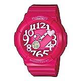 Casio Baby-G - Reloj analógico - digital de mujer de cuarzo con correa de resina rosa (alarma,...