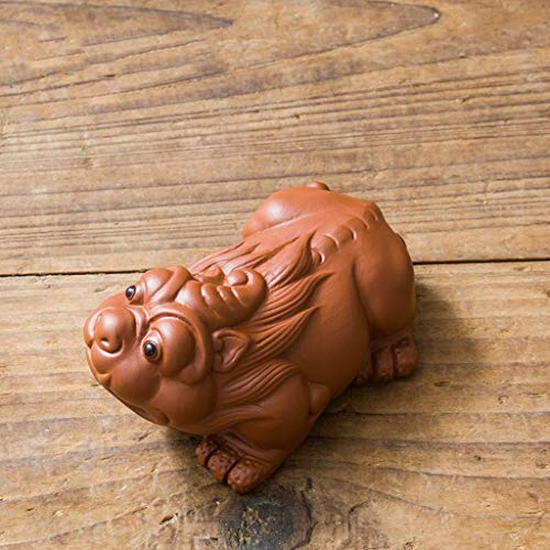 JERPOZ Tee Tee Pet Pet Pet Ornamente Können Auf Tee Haustier Ornamente Handgemachte Teetisch Kung-Fu-Tee Tee Zubehör Angehoben Werden (Color : D, Size : 8.3cm×5.7cm×4.3cm)