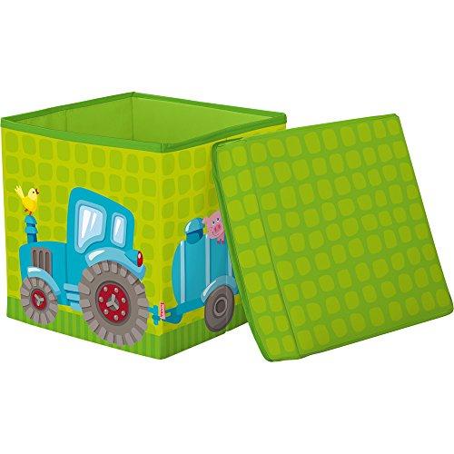 Haba 303467 - Sitzwürfel Traktor