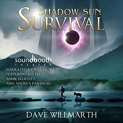 Shadow Sun Survival audiobook cover art