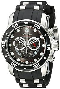 Invicta Men's ILE6977ASYB Pro Diver Analog Display Swiss Quartz Black Watch