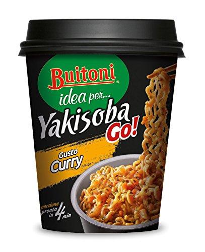 BUITONI IDEA PER…YAKISOBA GO! GUSTO CURRY Noodles istantanei verdure e salsa soia 1 porzione