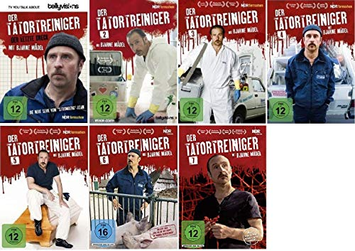 Der Tatortreiniger 1-7 (1+2+3+4+5+6+7, 1 bis 7) Die komplette Serie [DVD Set]