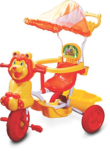 Toyzone Lion Baby Tricycle -Multicolour