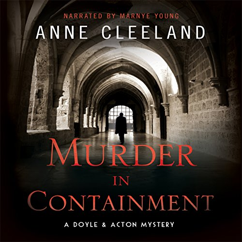 Murder in Containment audiobook cover art
