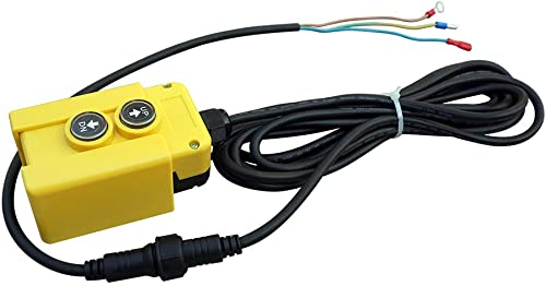 3 Wire Dump Trailer Remote Control Switch Controller 12 Volt DC for Single Acting Hydraulic Power Pump Unit