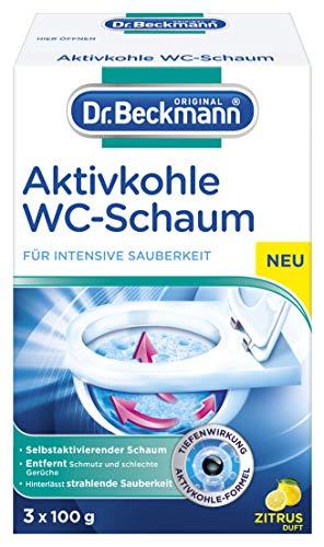 Dr. Beckmann Aktivkohle Wc-Schaum, Selbstaktivierender Schaum (1 x 300 g)