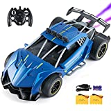V VALANCH Rc Car 1/12 Scale Large Remote Control Car 2.4 GHz High Speed Drift RC Toys Car with LED Light Spray 2 Battery Kids Gift for Boys & Girls Birthday