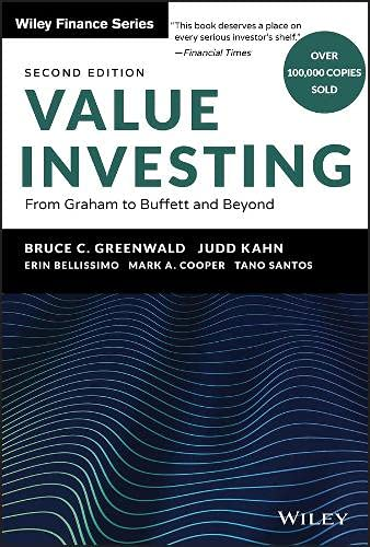 Value Investing: From Graham to Buffett and Beyond: 396 (Wiley Finance)