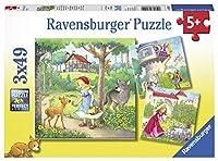 Rapunzel, Rotkäppchen und Froschkönig - Puzzle mit 49 Teilen
