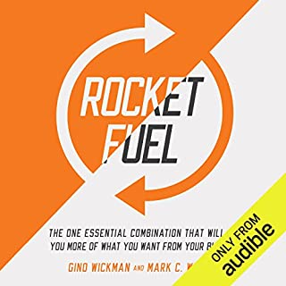 Rocket Fuel     The One Essential Combination That Will Get You More of What You Want from Your Business              Written by:                                                                                                                                 Gino Wickman,                                                                                        Mark C. Winters                               Narrated by:                                                                                                                                 Mark C. Winters                      Length: 4 hrs and 26 mins     20 ratings     Overall 4.5