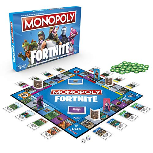 Hasbro Monopoly: Fortnite Party board game Adultos - Juego de tablero [Version...