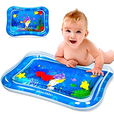 SEPHIX Baby Toys 0-3-6-12 Months Boys Gifts, Infant Toys 3-6 Months Newborn Inflatable Water Tummy Time Play Mat, Activity Center for Babies Learning Sensory Toys for Toddlers Age 1 Year Old Boy
