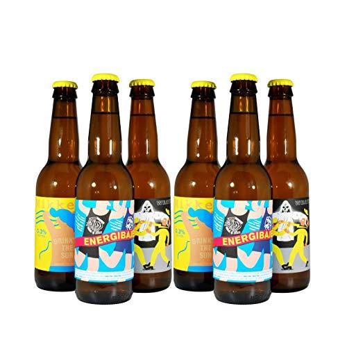 MIKKELLER - CERVEZAS SIN ALCOHOL - Pack Degustación de 3 Variedades - 12 x 33cl - Las Mejores Cervezas Artesanas sin Alcohol de MIKKELLER