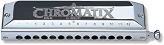 Suzuki Chromatix SCX56C Harmonica 14 trous DO Argenté