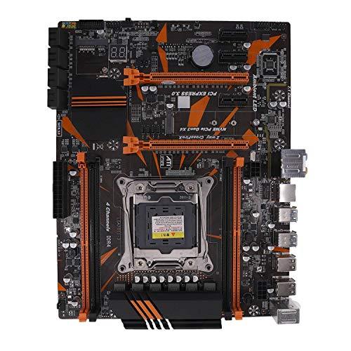 Cobeky X99 LGA2011-3 Placa Base DDR4 de 4 Canales 2133/2400/2800 32G NVME SSD M.2 SATA2.0 USB3.0 PCIE16X Ranuras para CPU I7 E5
