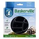 Baskerville Ultra - Bozal de goma, Negro, Talla 5 (Longitud: 11 cm/Anchura: 35 cm)