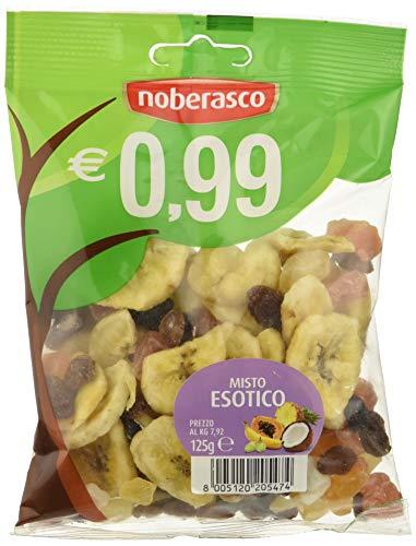 Misto Esotico 0,99 Noberasco - confezione da 12 bustine 125g-Assortimento di Frutta Disidratata