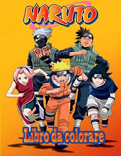 Naruto Libro da colorare: Sei pronto a iniziare una divertente e magica avventura con Naruto e Sasuke?
