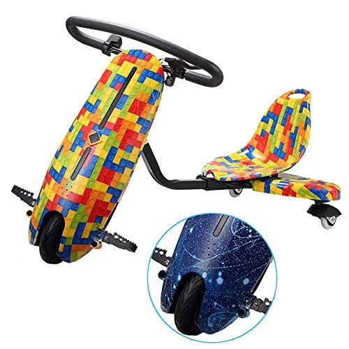 FLy Kart Electric Mini Coche Eléctrico De Deriva Coche Deriva Eléctrico De...