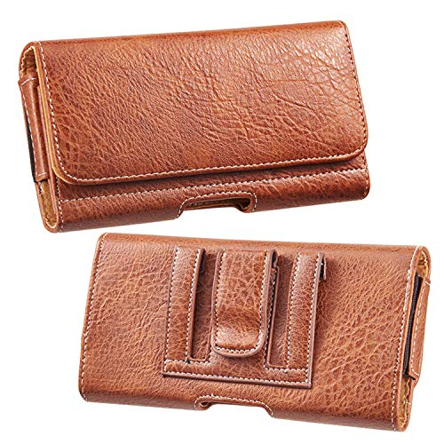 Horizontal Holster Wallet Pouch Purse Bag for Samsung Galaxy M12, Quantum 2, F12, F02s, A72, A52 5G