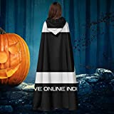 Photo de OJIPASD IOI Innovative Online Industries Ready Player One Unisexe Robe de Noël Halloween Chevalier de sorcière Vampires Cape Cape Cosplay par
