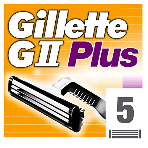 Gillette GII Plus - Recambio Maquinilla Afeitar Hombre
