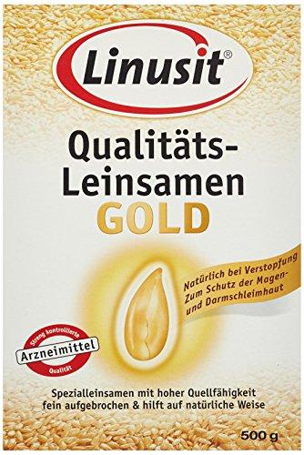Linusit Gold Leinsamen, 5er Pack (5 x 500 g)