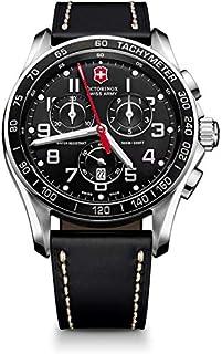 Victorinox Swiss Army XLS Classic Black Chronograph Men's Watch 241444