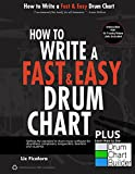 How to Write a Fast and Easy Drum Chart Plus Bonus How to Use Drum Chart Builder Software : Setting the Standard in Drum Music Software for Drummers, Composers, Songwriters, Teachers and Students.