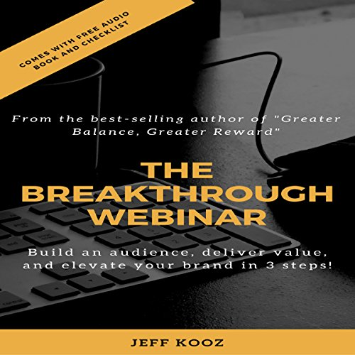 The Breakthrough Webinar audiobook cover art