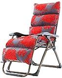 Sillones al aire libre Silla de salón de silla cero reclinable al aire libre, silla de cubierta interior, sillón plegable de jardín Sillón de patio, for personas pesadas, tumbona Para jardines al aire