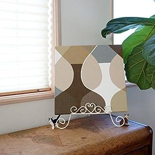 ファブリックパネル ボラスコットン/boras cotton MALAGA(マラガ)/BEIGE 300×300mm
