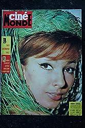 Cinémonde n° 1432 * 1962 * Rock Party avec Helen SHAPIRO Dany SAVAL Sonya CORDEAU Leslie CARON